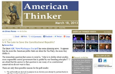http://www.americanthinker.com/2012/04/is_it_too_late_to_save_the_constitutional_republic.html