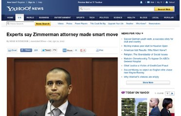http://news.yahoo.com/experts-zimmerman-attorney-made-smart-move-072305753.html