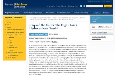 http://www.crisisgroup.org/en/regions/middle-east-north-africa/iraq-iran-gulf/iraq/120-iraq-and-the-kurds-the-high-stakes-hydrocarbons-gambit.aspx