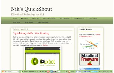 http://quickshout.blogspot.com/2012/04/digital-study-skills-gist-reading.html
