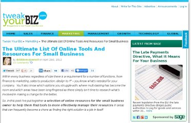 http://tweakyourbiz.com/marketing/2012/04/21/the-ultimate-list-of-online-tools-and-resources-for-small-business/