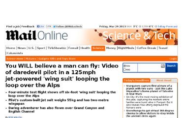 http://www.dailymail.co.uk/sciencetech/article-2132483/You-WILL-believe-man-fly-Daredevil-pilot-uses-125mph-jet-powered-wing-suit-hurtle-mountains-Switzerland.html