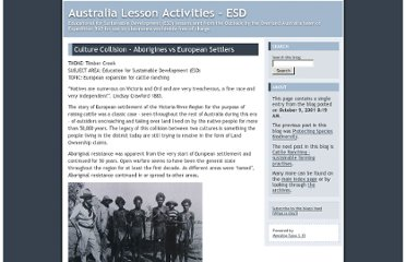 http://www.expedition360.com/australia_lessons_esd/2001/10/culture_collision_aborigines_v.html