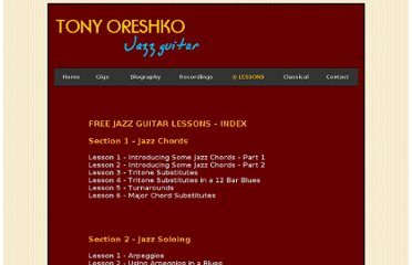 http://www.oreshko.co.uk/lessons.htm