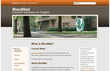 http://wordnet.princeton.edu/wordnet/