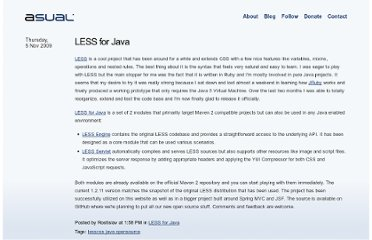 http://www.asual.com/blog/lesscss/2009/11/05/less-for-java.html