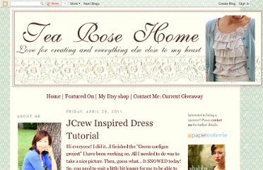 http://tearosehome.blogspot.com/2011/04/jcrew-inspired-dress-tutorial.html