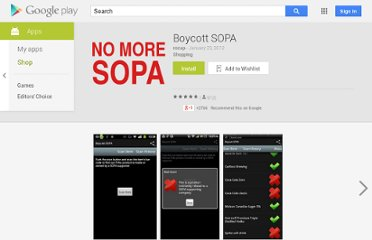 https://play.google.com/store/apps/details?id=com.boycottsopa.android