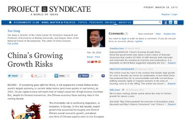 http://www.project-syndicate.org/commentary/china-s-growing-growth-risks