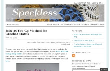 http://speckless.wordpress.com/2011/05/21/join-as-you-go-method-for-crochet-motifs/
