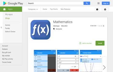 Mathematics (Android)