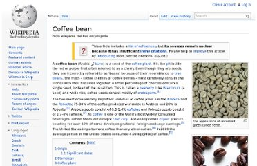 http://en.wikipedia.org/wiki/Coffee_bean