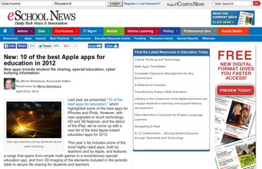 http://www.eschoolnews.com/2012/04/21/new-10-shiny-apple-apps-for-education/