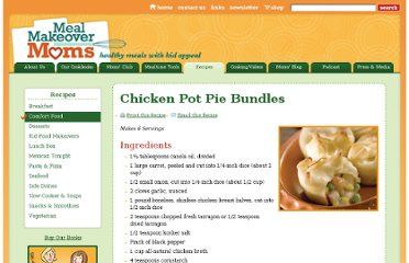 http://mealmakeovermoms.com/recipes/comfort-food/chicken-pot-pie-bundles/