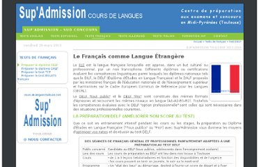 http://www.cours-de-langues-toulouse.com/francais/tests-01.php