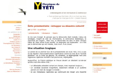 http://yetiblog.org/index.php?post/presidentielle-le-desastre-collectif#.T5SBjNdXRVA.twitter