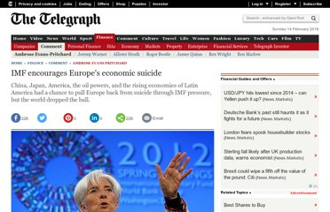 http://www.telegraph.co.uk/finance/comment/ambroseevans_pritchard/9219600/IMF-encourages-Europes-economic-suicide.html