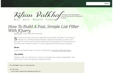 http://kilianvalkhof.com/2010/javascript/how-to-build-a-fast-simple-list-filter-with-jquery/