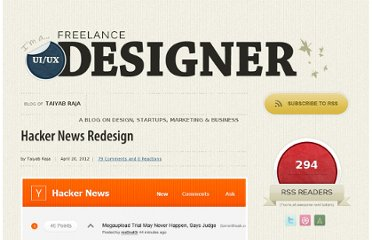 http://www.taiyab.co.uk/2012/04/hacker-news-redesign/