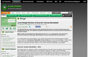 http://www.gamasutra.com/blogs/MatthewDonatelli/20120118/9264/Level_Design_Review_of_Deus_Ex_Human_Revolution.php