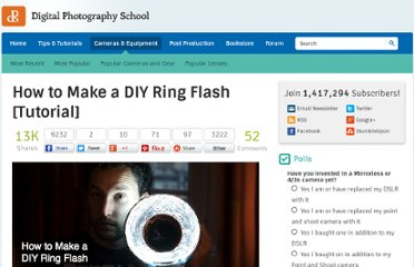 http://digital-photography-school.com/how-to-make-a-diy-ring-flash-tutorial