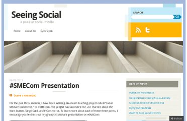 http://seeingsocial.wordpress.com/2012/04/23/smecom-presentation/
