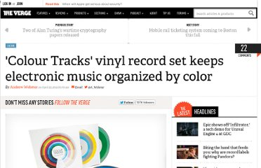 http://www.theverge.com/2012/4/23/2968466/colour-tracks-benjamin-brunn-color-coded-vinyl-records