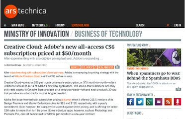 http://arstechnica.com/business/news/2012/04/creative-cloud-adobes-new-all-access-cs6-subscription-priced-at-50month.ars