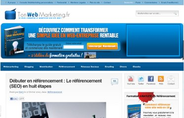 http://www.tonwebmarketing.fr/referencement/debuter-en-referencement-le-referencement-seo-en-huit-etapes