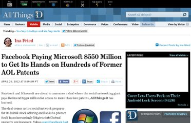 http://allthingsd.com/20120423/microsoft-and-facebook-to-announce-550-million-patent-deal/