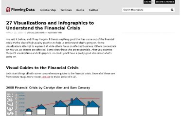 http://flowingdata.com/2009/03/13/27-visualizations-and-infographics-to-understand-the-financial-crisis/
