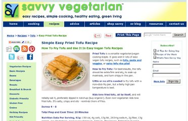 http://www.savvyvegetarian.com/vegetarian-recipes/fried-tofu-recipe.php
