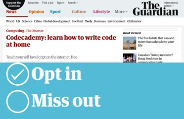 http://www.guardian.co.uk/technology/2012/mar/04/learn-javascript-code-on-net
