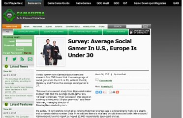 http://www.gamasutra.com/view/news/27826/Survey_Average_Social_Gamer_In_US_Europe_Is_Under_30.php