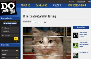 http://www.dosomething.org/tipsandtools/11-facts-about-animal-testing