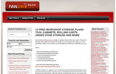 http://www.toolcrib.com/blog/2008/11/12-free-workshop-storage-plans-tool-cabinets-rolling-carts-under-stair-storage-and-more
