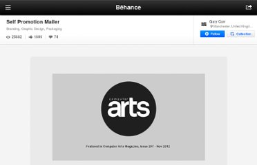 http://www.behance.net/gallery/Self-Promotion-Mailer/3683065