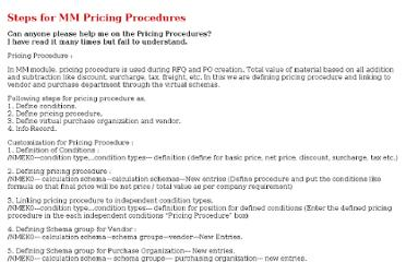 http://www.erpgreat.com/materials/steps-for-mm-pricing-procedures.htm