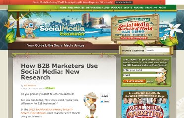 http://www.socialmediaexaminer.com/b2b-social-media-marketing-research/