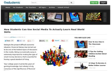 http://edudemic.com/2012/04/how-students-can-use-social-media-to-actually-learn-real-world-skills/
