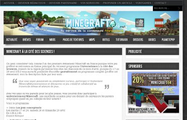 http://www.minecraft64.net/minecraft-a-la-cite-des-sciences/