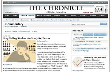 http://chronicle.com/article/Stop-Telling-Students-to-Study/131622