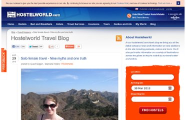 http://www.hostelworld.com/blog/solo-female-travel-nine-myths-and-one-truth/155970