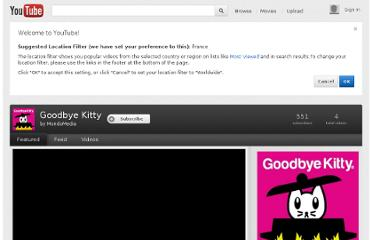http://www.youtube.com/show/goodbyekitty