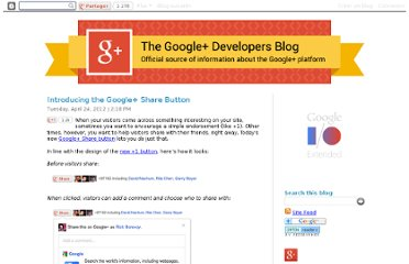 http://googleplusplatform.blogspot.com/2012/04/introducing-google-share-button.html
