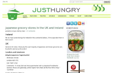 http://www.justhungry.com/handbook/just-hungry-handbooks/japanese-grocery-store-list/europe/uk-i