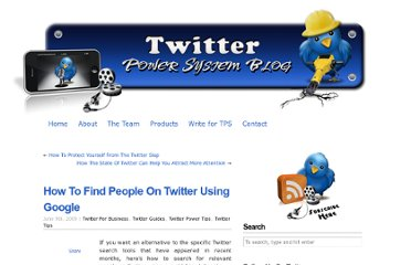 http://www.twitterpowersystem.com/blog/how-to-find-people-on-twitter-using-google/