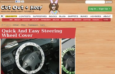 http://www.cutoutandkeep.net/projects/quick-and-easy-steering-wheel-cover