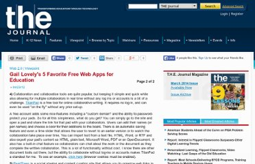 http://thejournal.com/Articles/2012/04/23/Gail-Lovelys-5-Favorite-Free-Web-Tools.aspx?=FETCLN&Page=2