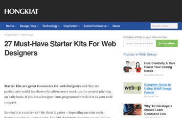 http://www.hongkiat.com/blog/27-must-have-starter-kits-for-web-designers/